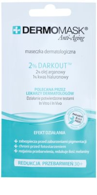 L'biotica DermoMask Anti-Aging маска за лице  против пигментни петна