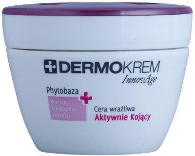L'biotica DermoKrem InnovAge pomirjujoča krema za občutljivo kožo, nagnjeno k rdečici