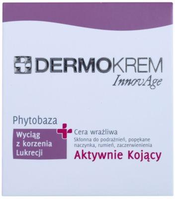L'biotica DermoKrem InnovAge die beruhigende Creme für empfindliche Haut mit der Neigung zum Erröten 2