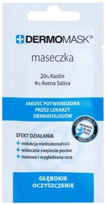 L'biotica DermoMask čistilna maska za kožo z nepravilnostmi