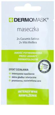L'biotica DermoMask intensive hydratisierende Maske