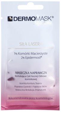 L'biotica DermoMask Night Active intensive verjüngende Maske mit Stammzellen