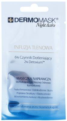 L'biotica DermoMask Night Active oxigenizáló maszk