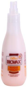 L'biotica Biovax Dry Hair spray hidratante bifásico para cabelo seco a danificado