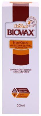 L'biotica Biovax Dry Hair 2-Phasen Feuchtigkeits Spray für trockenes und beschädigtes Haar 2