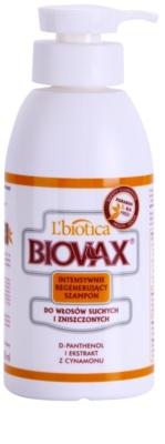 L'biotica Biovax Dry Hair regeneracijski šampon za suhe in poškodovane lase