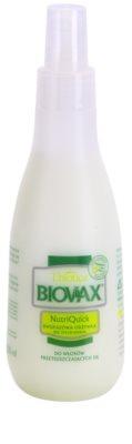 L'biotica Biovax Dull Hair 2-Phasen Feuchtigkeits Spray für fettiges Haar