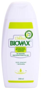 L'biotica Biovax Dull Hair подсилващ шампоан за мазна коса и мазен скалп