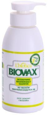 L'biotica Biovax Dull Hair champô fortificante de tratamento especial para cabelo e couro cabeludo oleosos