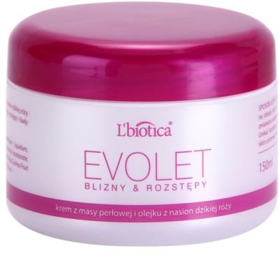L'biotica Evolet crema alisadora antiestrías