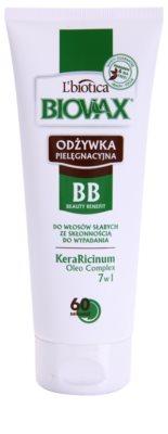 L'biotica Biovax Falling Hair acondicionador fortificante anticaída