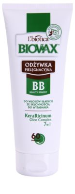 L'biotica Biovax Falling Hair condicionador fortificante anti-queda capilar