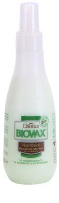 L'biotica Biovax Falling Hair двуфазен хидратиращ спрей за подсилване и блясък на косата