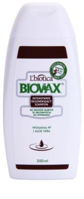 L'biotica Biovax Falling Hair sampon fortifiant impotriva caderii parului