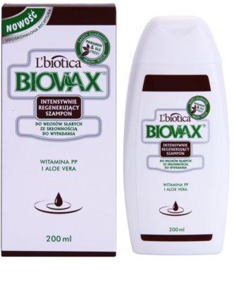 L'biotica Biovax Falling Hair sampon fortifiant impotriva caderii parului 1