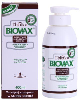 L'biotica Biovax Falling Hair champô reforçador contra queda capilar para mulheres 1
