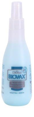 L'biotica Biovax Keratin & Silk spray hidratante bifásico com efeito alisador