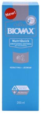 L'biotica Biovax Keratin & Silk spray hidratante bifásico com efeito alisador 2