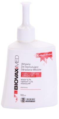 L'biotica Biovax Med активиращ серум за разредена коса