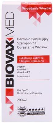 L'biotica Biovax Med champú estimulante  para el crecimiento y fortalecimiento del cabello desde las raíces 2