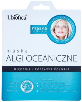 L'biotica Masks Seaweed Essence masca pentru consolidarea și tonifierea pielii