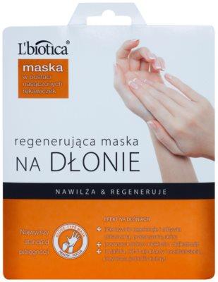 L'biotica Masks regeneráló kézmaksz kesztyűben