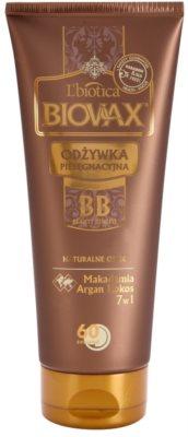 L'biotica Biovax Natural Oil balsam hidratant cu efect imediat