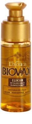 L'biotica Biovax Natural Oil хидратиращ и подхранващ серум  за блясък и мекота на косата 1