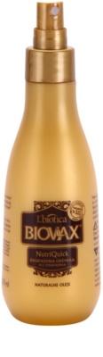 L'biotica Biovax Natural Oil 2-Phasen Feuchtigkeits Spray für trockenes und zerbrechliches Haar
