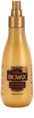 L'biotica Biovax Natural Oil dvoufázový hydratační sprej pro suché a křehké vlasy