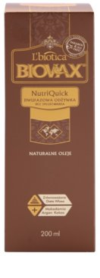 L'biotica Biovax Natural Oil двофазний зволожуючий крем для сухого та ламкого волосся 2