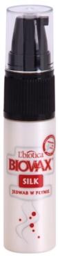 L'biotica Biovax Silk sérum regenerador para reforçar e dar brilho ao cabelo