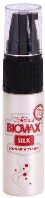 L'biotica Biovax Silk відновлююча сироватка для зміцнення та блиску волосся