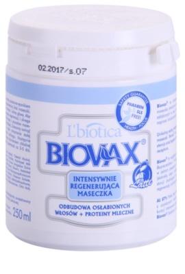 L'biotica Biovax Weak Hair stärkende Maske für geschwächtes Haar