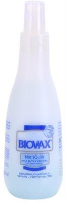 L'biotica Biovax Weak Hair dvousložkové sérum pro oslabené vlasy