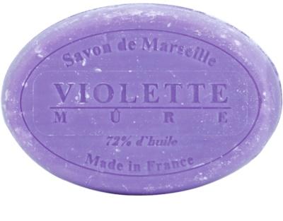 Le Chatelard 1802 Violet & Blackberry guľaté francúzske prírodné mydlo