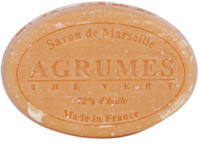 Le Chatelard 1802 Citrus Fruits & Green Tea kulaté francouzské přírodní mýdlo