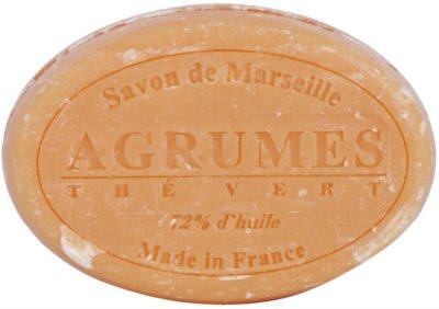 Le Chatelard 1802 Citrus Fruits & Green Tea кръгъл френски натурален сапун