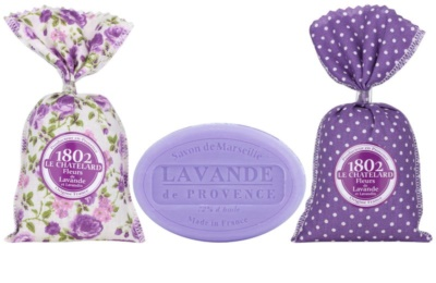 Le Chatelard 1802 Lavender from Provence косметичний набір III.