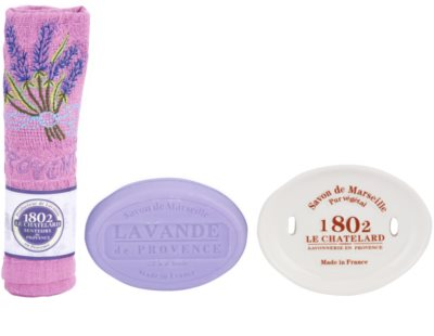 Le Chatelard 1802 Lavender from Provence kosmetická sada VII.