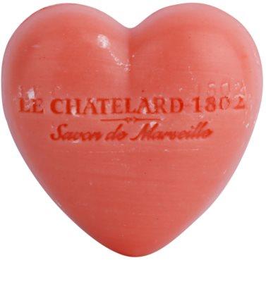 Le Chatelard 1802 Jasmine Rose mýdlo ve tvaru srdce