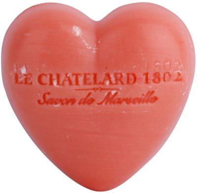Le Chatelard 1802 Jasmine Rose sabonete em forma de coração