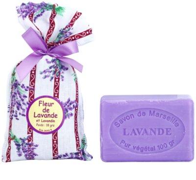 Le Chatelard 1802 Lavender zestaw kosmetyków IV.