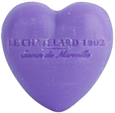 Le Chatelard 1802 Lavender milo v obliki srca