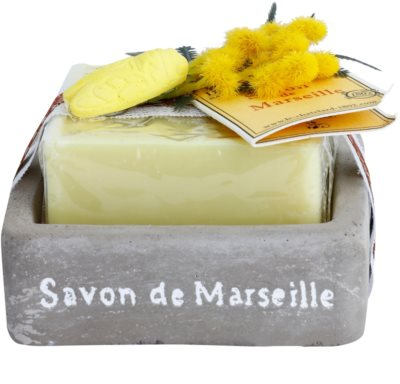 Le Chatelard 1802 Milk Vigne luxusní francouzské mýdlo s mýdelníkem