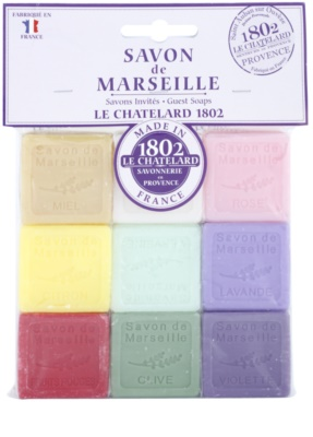 Le Chatelard 1802 Natural Soap lote cosmético II.