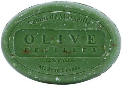 Le Chatelard 1802 Olive Leaves jabón natural francés redondo