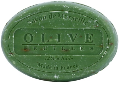 Le Chatelard 1802 Olive Leaves kulaté francouzské přírodní mýdlo