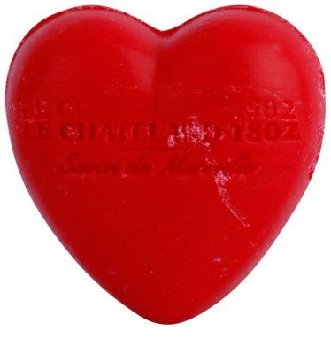 Le Chatelard 1802 Red Fruits jabón en forma de corazón