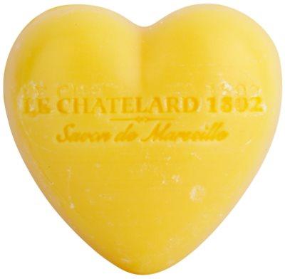 Le Chatelard 1802 Tangerine & Lime milo v obliki srca